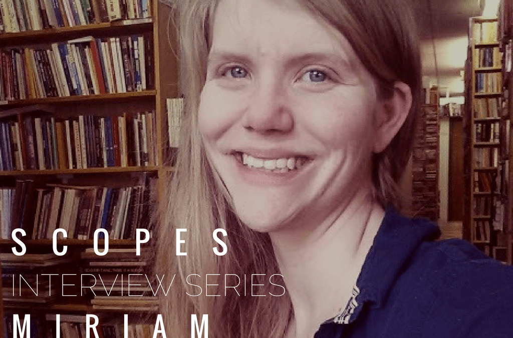'Scopes Interview Series – Miriam, Artist of the Stars